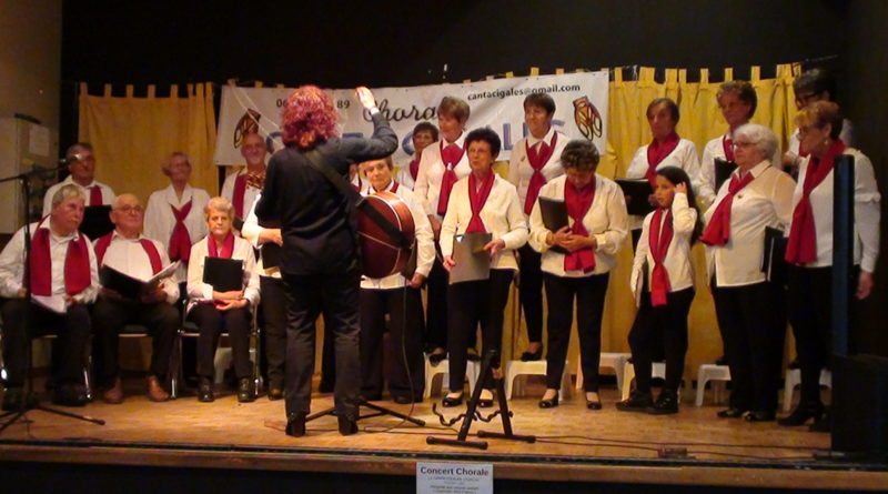 CONCERT CHORALE CANTA CIGALE